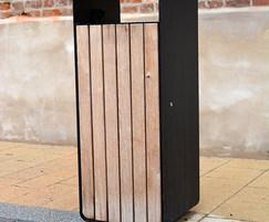 Box litter bins for Flemingate, Hull