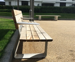 European White Oak Seating for Nine Elms Point