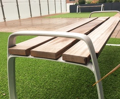 FGP Benches at Woden Street