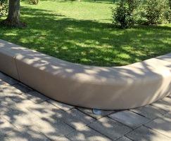 Loop Corner polyethylene indoor seating