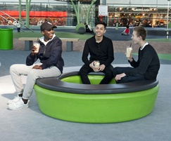 Loop Cushion comfortable outdoor seating