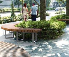Artform Urban Furniture: Introducing the Cobra bench system