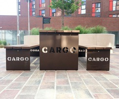 Bespoke picnic set with corten steel - Baltic Triangle