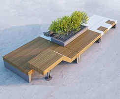 Artform Urban Furniture: Introducing Isolaurbana seating and planter collection