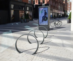 Loop cycle stand at Victoria Gate