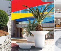 Artform Urban Furniture: Create landscapes with 2-in-1 planter/seating ranges