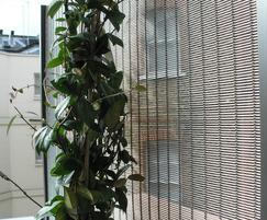 Bespoke mesh trellis panel