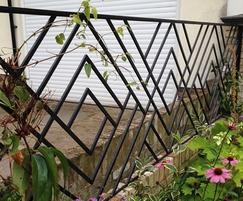 Bespoke trellis panels / railing