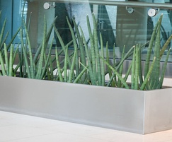 304 grade stainless steel trough planter