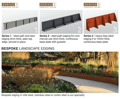 Outdoor Design landscape edging - standard or bespoke