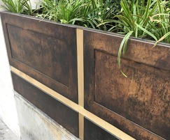 Bespoke outdoor planters for The Crown Estate