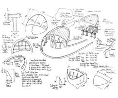 Alistair Bayford's rough sketch, Family Monsters Garden