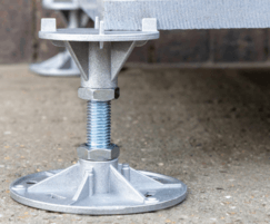 A-PED A1 fire-rated adjustable decking support pedestal