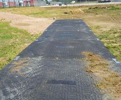 IsoTrack H ground protection panel