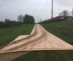IsoTrack X heavy-duty ground protection mat