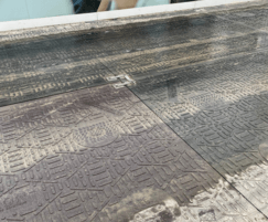 Isotrack H mats for heavy duty protection