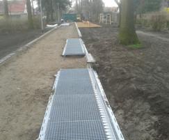 RootBridge tree root protection on public walkway