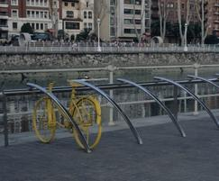 Ensures bicycles can be locked more securely