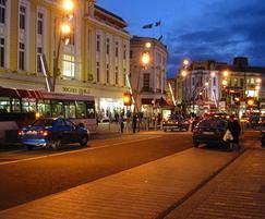Streetlighting in St Patrick's St, Cork