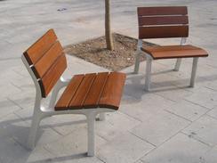 NeoRomantico Clasico bench - Chair option shown