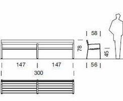 Maximum length 3m in timber option