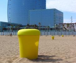 Santa & Cole Bina Beach Litter Bin