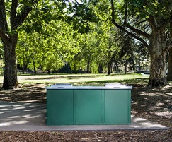 Triple Bench modular barbecue by Christie
