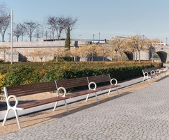 Urbidermis - PeriSphere street bench