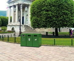 CitySolar SMART bin by FInBin