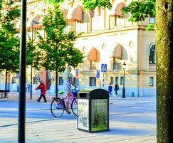 City Solar smart litter bin by FinBin