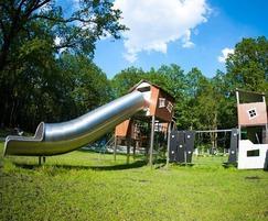 Playground equipment large playhouse