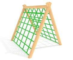 A Frame Climber with net on both sides