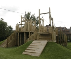Play areas at Grove Senior School