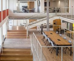 Versatile office spaces at Sea Containers House