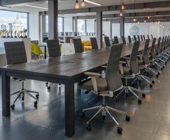 Bespoke sharing table at Sea Containers House