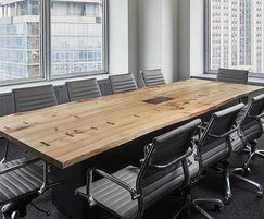 Bespoke conference table in character elm