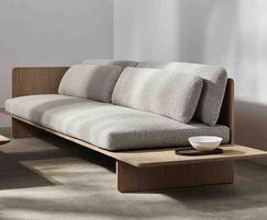 Benchmark Muse sofa - oak