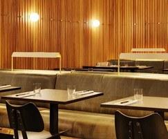 Restaurant furniture for Ace Hotel