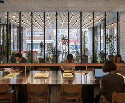 Lobby table, Ace Hotel