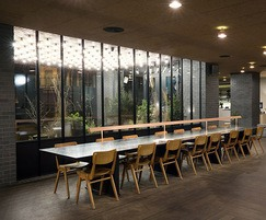 Lobby table for Ace Hotel