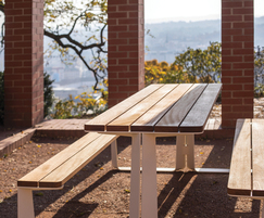 Rautster picnic table is perfect for al fresco dining