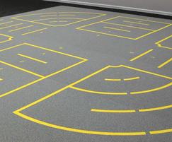 SPORTEC® Purcolor impact & noise reducing flooring