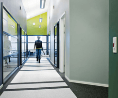 SPORTEC® Purcolor for commercial interiors