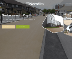 NatraTex: New website for Natratex following rebrand