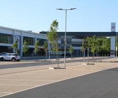 NatraTex Cotswold surfacing - Yate Retail Park