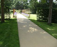 NatraTex Cotswold surfacing - private estate Chertsey