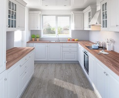 Click wood floor planks - Coastal Grey Oak