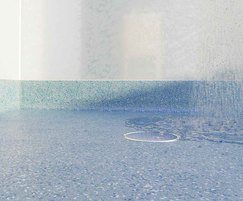 Multipanel WetFlor™ Tidal Wave flooring in wet room