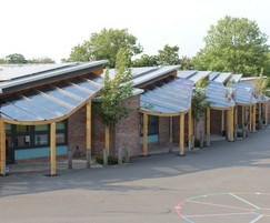Bespoke canopies at RIBA Award winning school