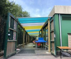 The first teaching canopy that installed